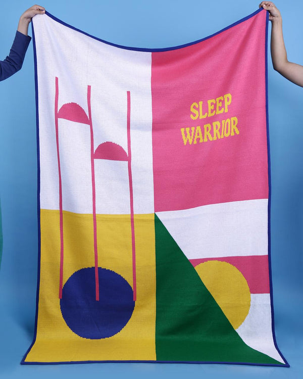 Sleep Warrior Blanket/Rug - Mabli Fabli - hglhouse