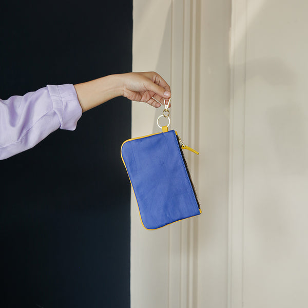 Blue Yellow Pouch - Phuture - hglhouse