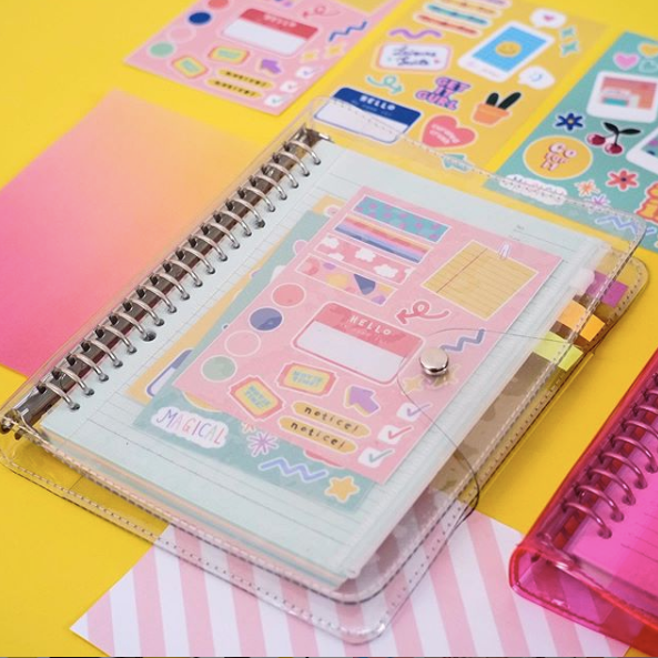 College Sweetheart Journal Clear - Curated Crush - hglhouse