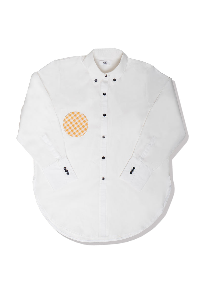 Eggy Shirt with Black Buttons - Nult Supply - hglhouse
