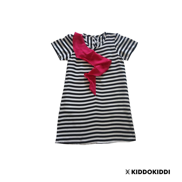 Lexy Dress Pink - Kiddokiddi