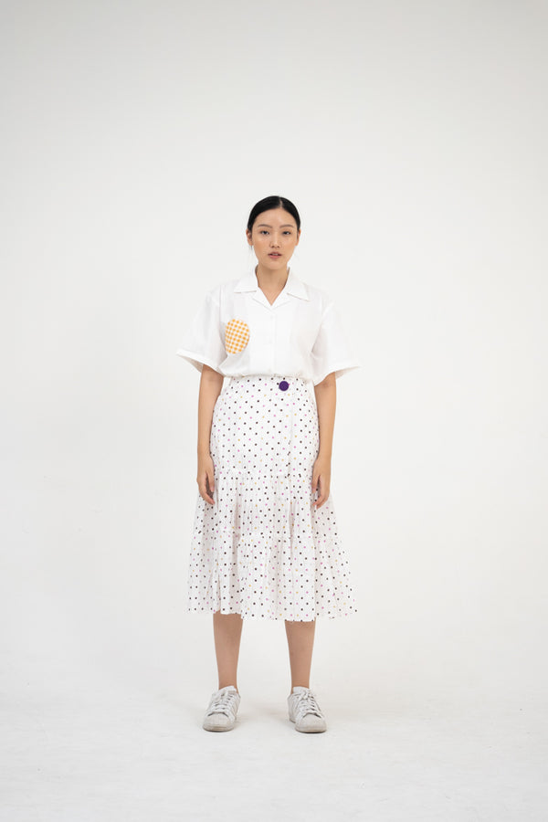 Greta Skirt in Polkadot - Nult Supply - hglhouse