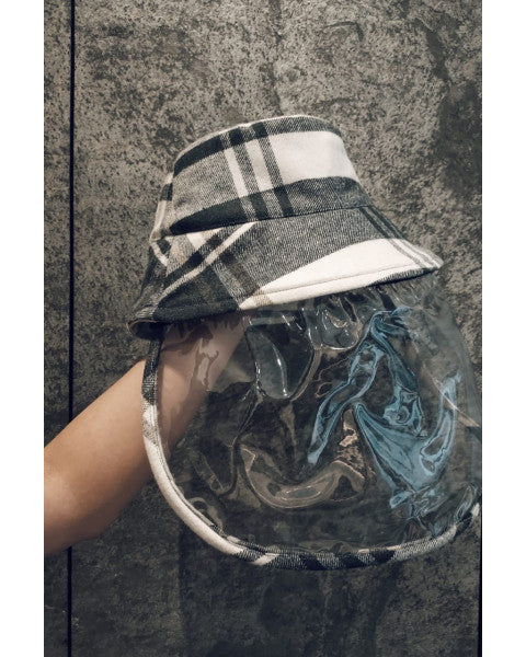Hat Adult Checkered - White Collar Concept - hglhouse