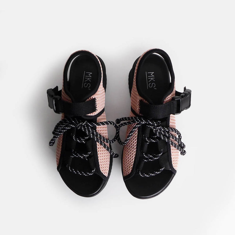 Benva Black Peach - Mks Shoes