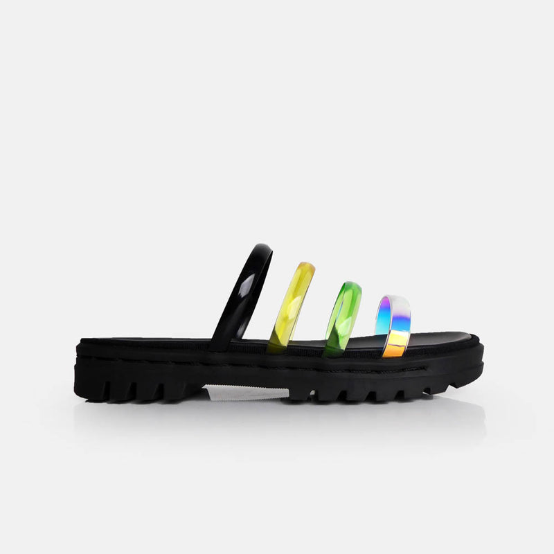 Lexa Multicolor Black - Mks Shoes