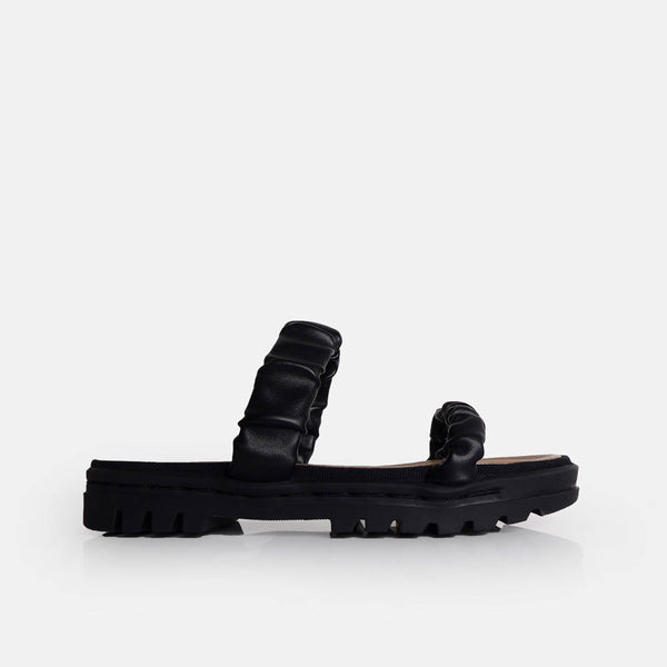 Famina Sandal Black - Mks Shoes
