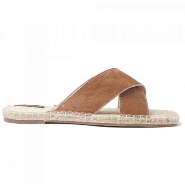 Suki Sandal Brown - Vanilla - hglhouse