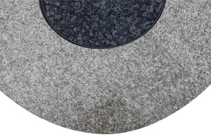 Buy Your Round Outdoor Propane Fire Pits Endless Summer GAD1375SP With Granite Mantel!