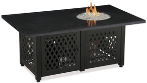 Order Rectangle Outdoor Propane Fire Pits Endless Summer GAD18100M!