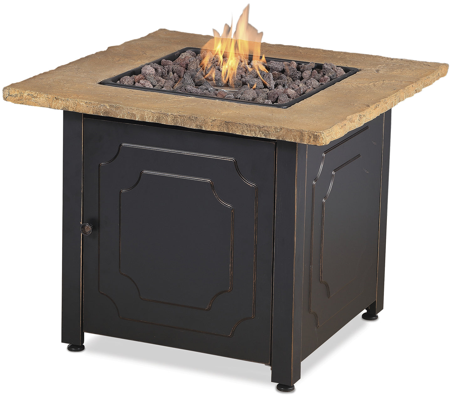 Low Prices on Square Outdoor Propane Fire Pits Endless Summer GAD1440SP!