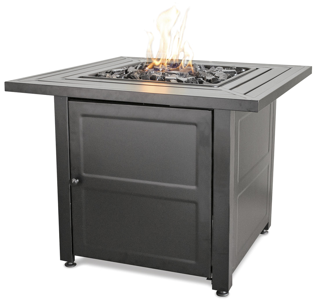 Own Your Square Outdoor Propane Fire Pits Endless Summer GAD1423M!
