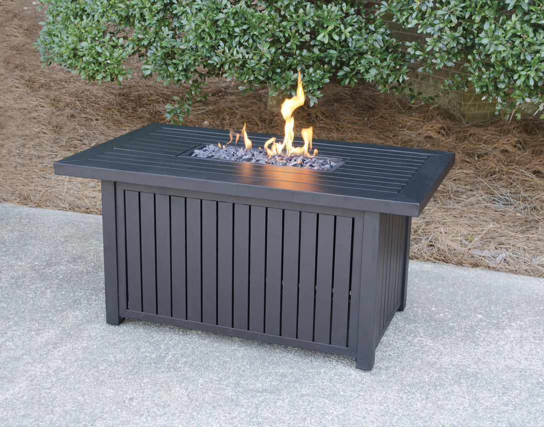 Get Your Rectangle Outdoor Propane Fire Pits Endless Summer GAD17101SP!