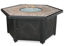 Get Hexagon Outdoor Propane Fire Pits Endless Summer GAD1380SP