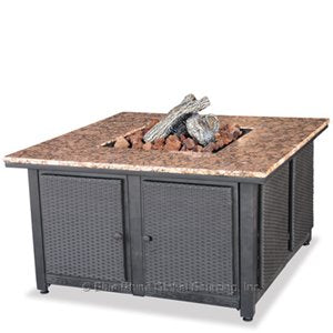Purchase Your Square Outdoor Propane Fire Pits Endless Summer GAD1200B!