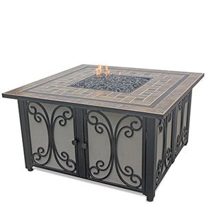 Need Square Outdoor Propane Fire Pits Endless Summer GAD1351SP!