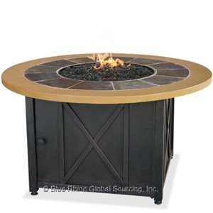 Shop Now For Round Outdoor Propane Fire Pits Endless Summer GAD1362SP!