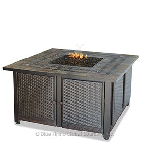 Own Square Outdoor Propane Fire Pits Endless Summer GAD1393S!