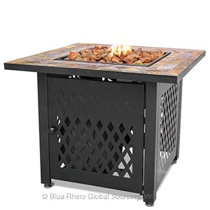 You Need A Square Outdoor Propane Fire Pits Endless Summer GAD1429SP!