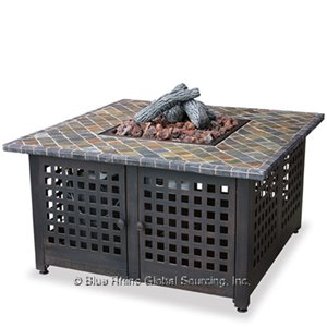 Low Prices On Our Square Outdoor Propane Fire Pits Endless Summer GAD860SP!