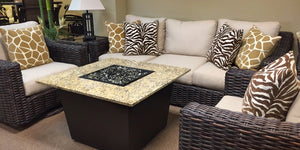 Save On Our Square Firetainment Fire Tables Venetian!