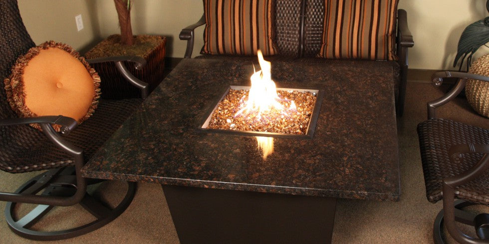 Own Today Square Firetainment Fire Tables Venice!