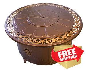 Buy A Round Cast Aluminum Patio Tables AZ Decorative Today!