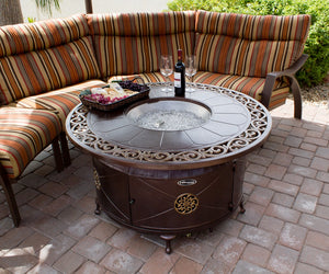 Buy Round Cast Aluminum Patio Tables AZ Decorative!
