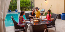 Buy Square Firetainment Fire Tables Madrid!