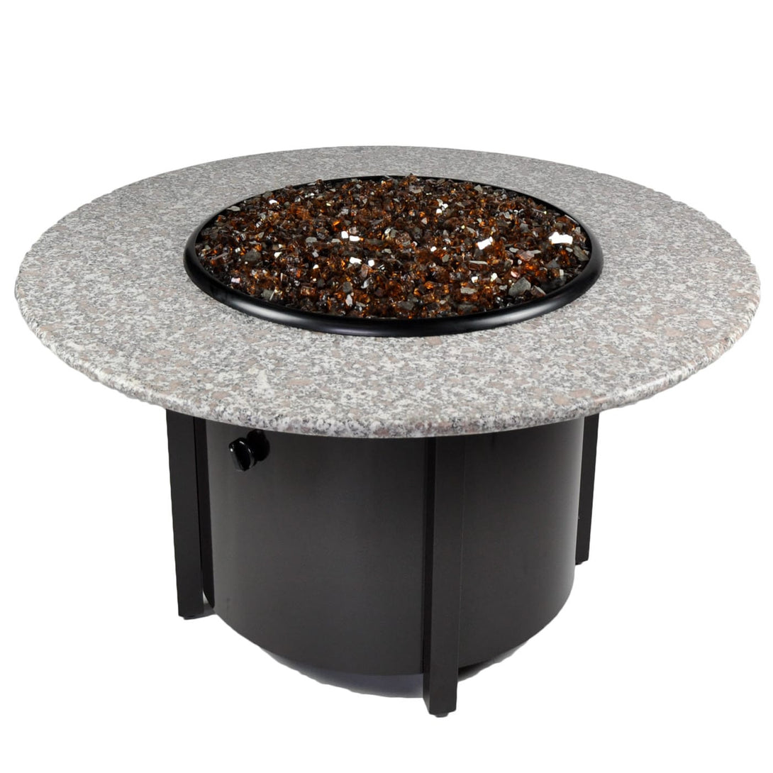 Get A New Round Outdoor Propane Fire Pits Tretco Venice III!