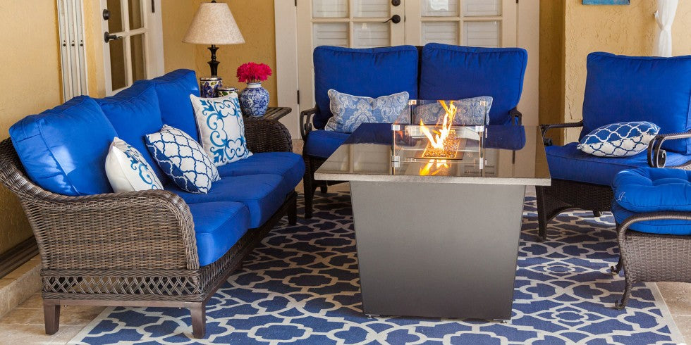 Purchase Rectangle Firetainment Fire Tables Tuscany!