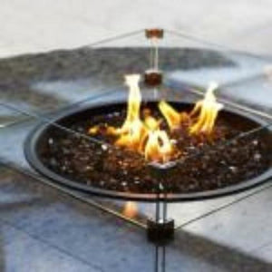 Buy Your Firetainment Fire Table Glass Wind Guard Tempered!