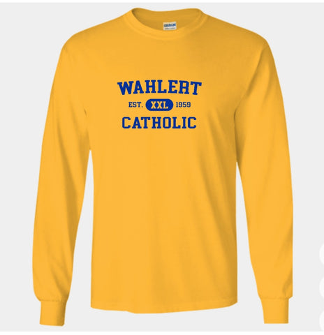 Booster Wahlert Retro Long Sleeve Tshirt (More Colors Available)