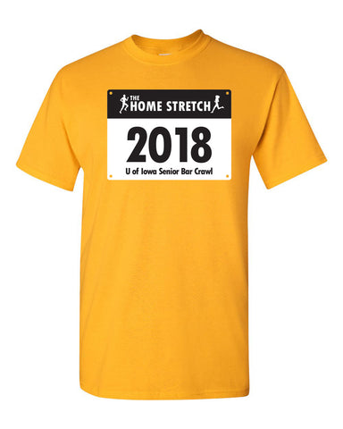 University of Iowa Senior Bar Crawl - T-shirt