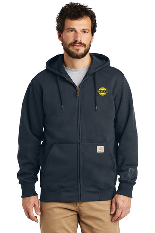 Mathy Construction Company Wisconsin Carhartt ® Heavyweight Full Zip Hoodie
