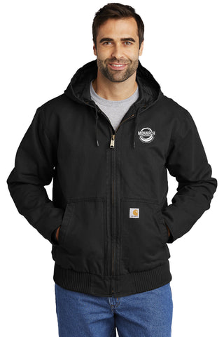 Monarch Construction Carhartt® Tall Washed Duck Active Jacket
