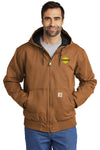 Mathy Construction Company Carhartt® Tall Washed Duck Active Jacket
