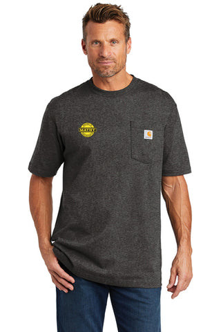 Mathy Construction Company Carhartt ® Workwear Pocket Short Sleeve