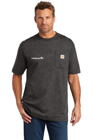 Consolidated Energy Company Carhartt ® Workwear Pocket Short Sleeve