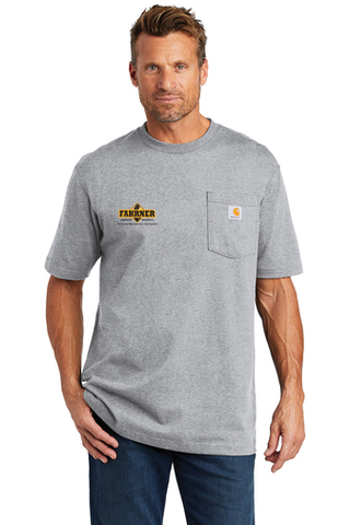Fahrner Asphalt Carhartt ® Tall Workwear Pocket Short Sleeve