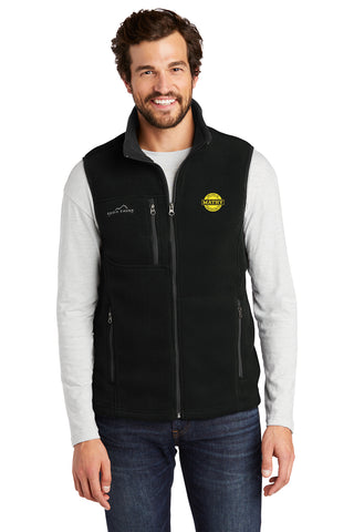 Mathy Construction Company Eddie Bauer Fleece Vest