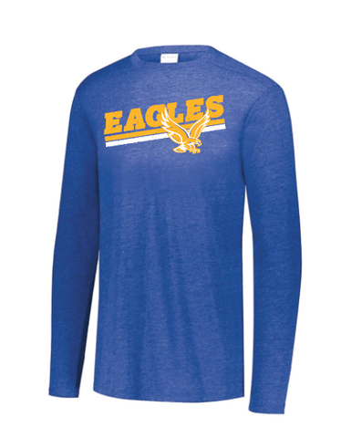 Mazzuchelli Eagles Triblend Long Sleeve (youth sizes)