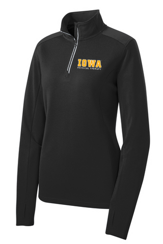Iowa PT Ladies Cut 1/4 Zip Jacket