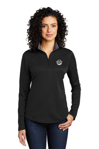 River City Stone Ladies 1/4 Zip Pullover
