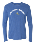 Mazzuchelli Catholic Premium Triblend Long Sleeve Tshirt