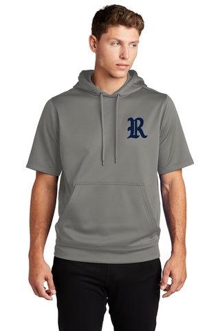 Roosevelt Baseball Short Sleeve Hooded Sweatshirt
