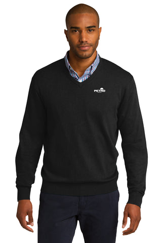 Petro Energy V-Neck Sweater