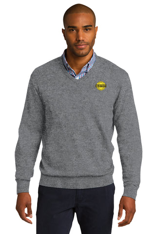 Mathy Construction Company V-Neck Sweater