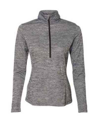 Mulgrew Oil Ladies Russell Quarter-Zip Pullover (More Colors Available)