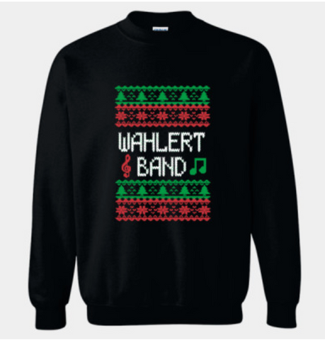 Wahlert Band Christmas Crewneck