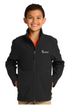 DFSA unisex youth soft shell jacket: team travel
